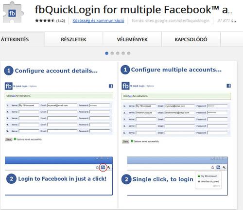 facebook belépés jelszó nélkül