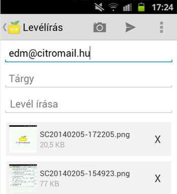 Citromail Android