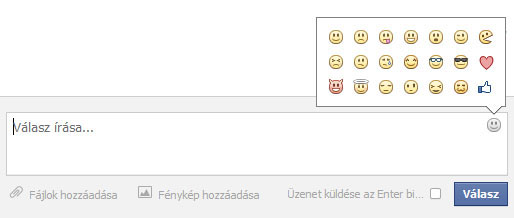Facebook smiley, jelek