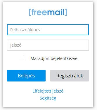 Freemail bejelentkezés | Belépés