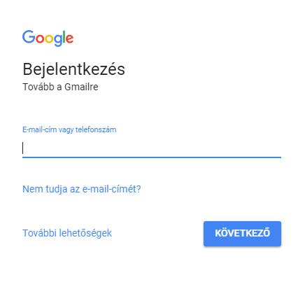 f525b14a77 Gmail bejelentkezés | Belépés