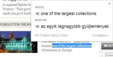 Google Chrome fordító