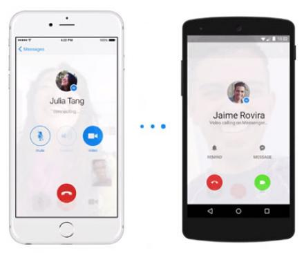 Facebook Messenger videóhívás funkció