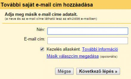 Gmail email cím