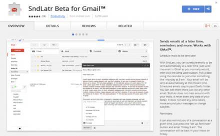 Időzített levél küldése Gmailben
