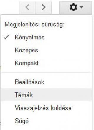 Gmail fiók téma