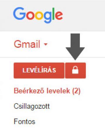Gmail titkos levél írás