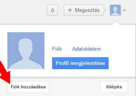 Gmail többfiókos bejelentkezés
