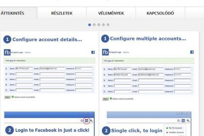 Chrome Facebook kiegészítő