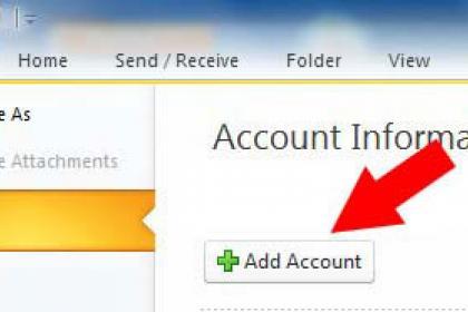 Freemail Outlook beállítás 1
