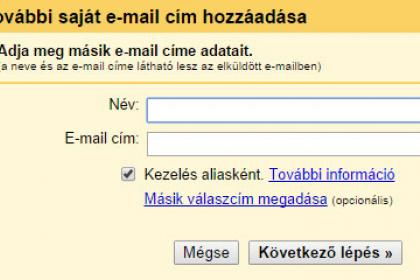 Gmail email cím
