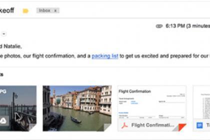 Gmail csatolmány