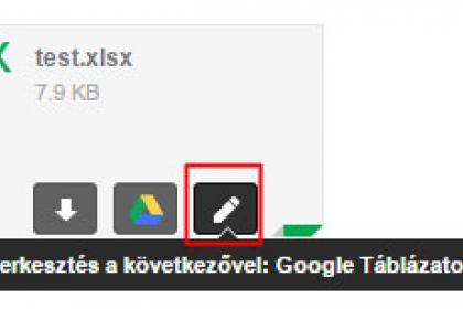 Így szerkesszük az Office csatolmányokat Gmailben