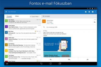 Az új Microsoft Outlook alkalmazas