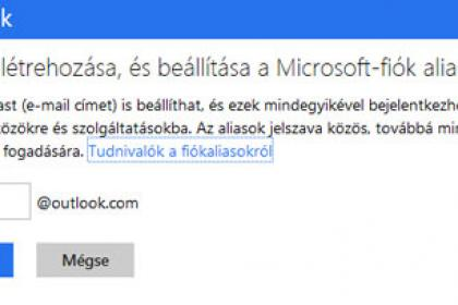 Outlook.com alias