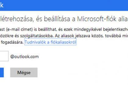 Outlook.com alias