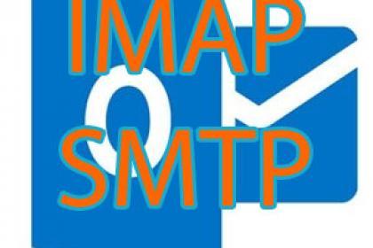 Outlook.com, Hotmail IMAP beállítások