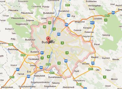 Budapest Terkep Belepes